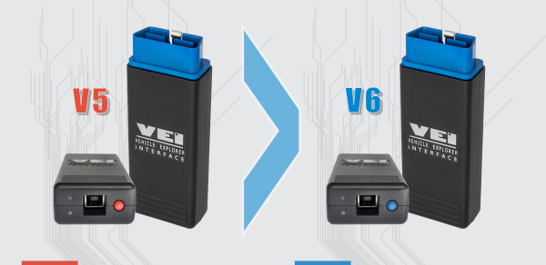 VEI V5 exchange to V6