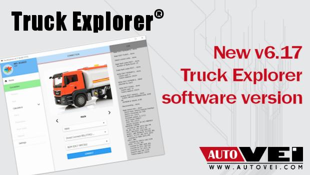 Truck Explore software v6.17