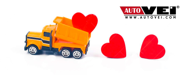 Valentine day AUTOVEI