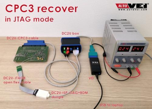 License CPC3 JTAG
