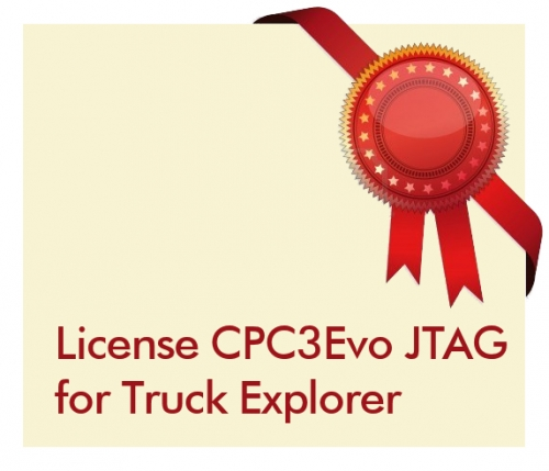 License CPC3Evo JTAG