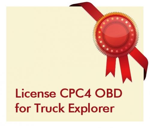 License CPC4 OBD