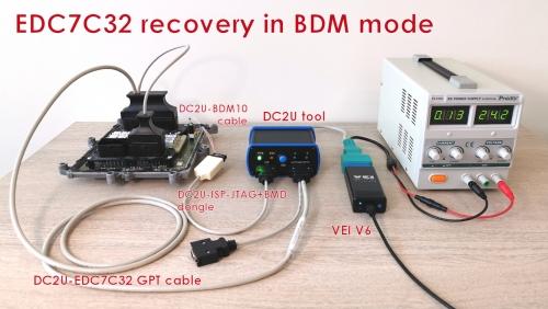 License EDC7 BDM