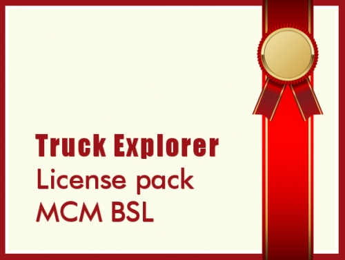 License pack MCM BSL
