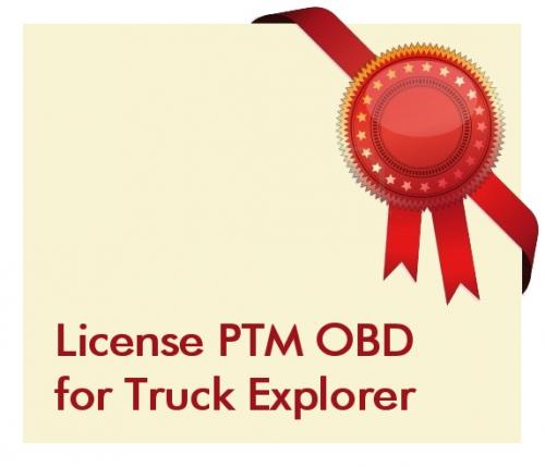 License PTM OBD