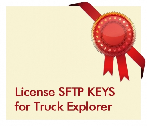 License SFTP KEYS